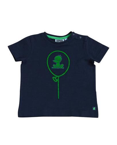 Nachtblaues T-Shirt